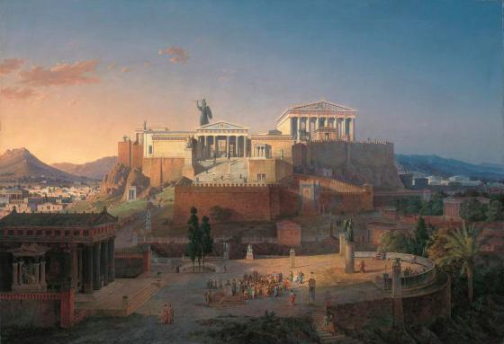 Acropolist by Leo Von Klenze