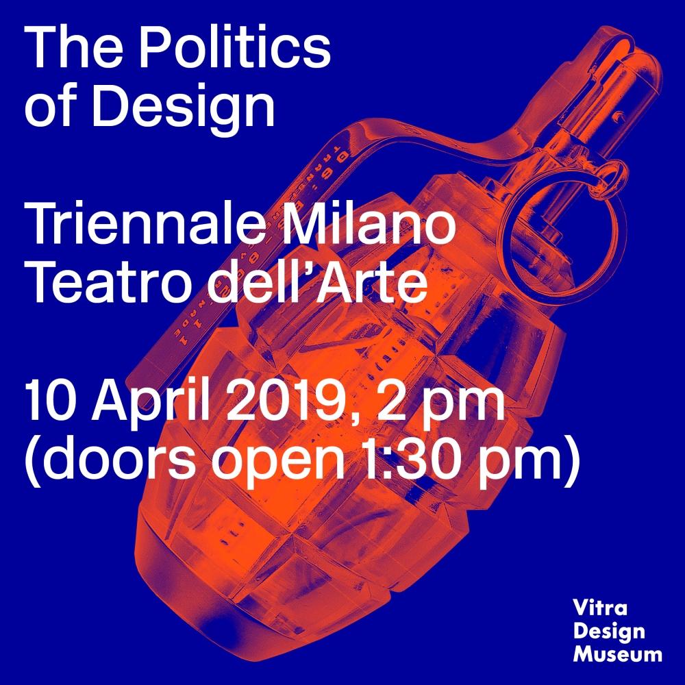 VDM_ThePoliticsOfDesign_Milan2019_PressImage_2